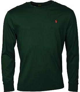 4f7df3c2 RALPH LAUREN Polo Men Long Sleeve Pony Logo T-Shirt with Pocket ...