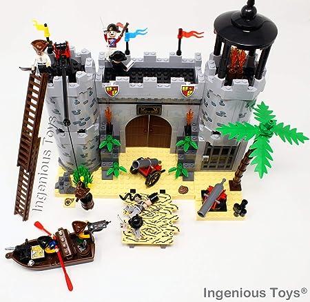 Ingenious Toys Piratas Castillo Ataque Real Protección 7 ...