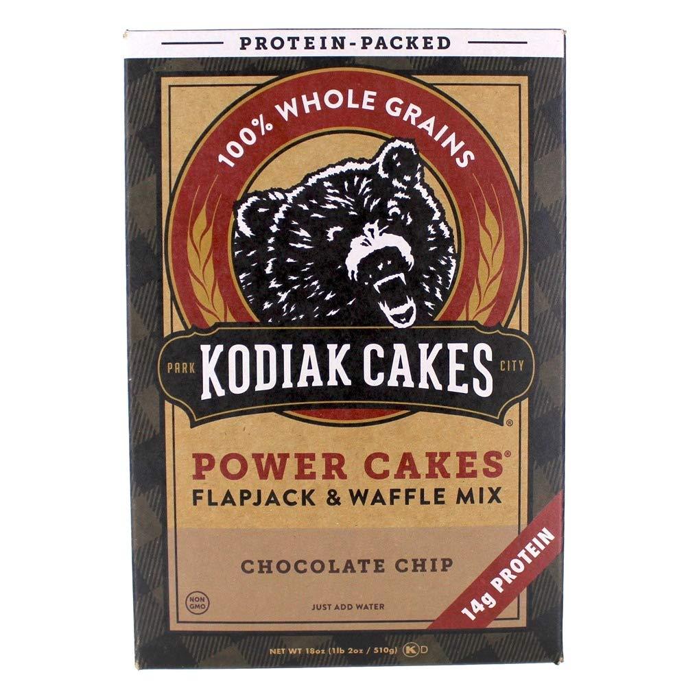 Kodiak Cakes Power Cakes Chocolate Chip Flapjack & Waffle ...