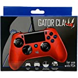 Nobilis-Telecomando Gator Claw Subsonic, Colore: Rosso (PlayStation 4)