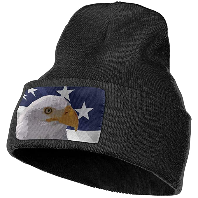 0f35ae09954 Image Unavailable. Image not available for. Color  American Eagle Winter  Beanie Hat Soft   Warm Chunky Skull Wool Knit ...