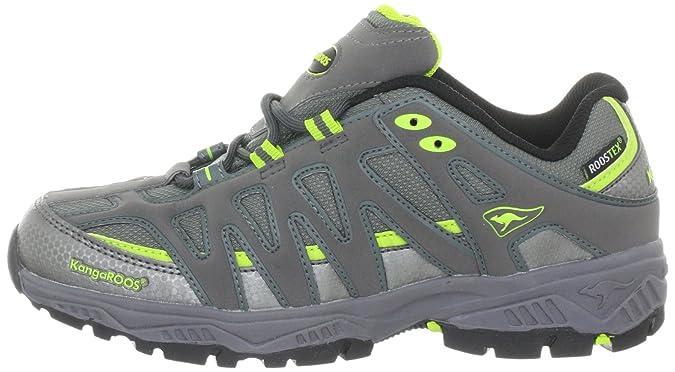 KangaROOS Ed 1126A/229 - Zapatillas de deporte para niños, color gris, talla 33