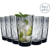 Bormioli Rocco Diamond océano azul Long drink vidrio