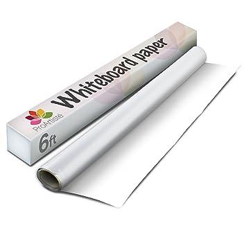 Tiza esta manera rollo de papel de dibujo pizarra blanca ...