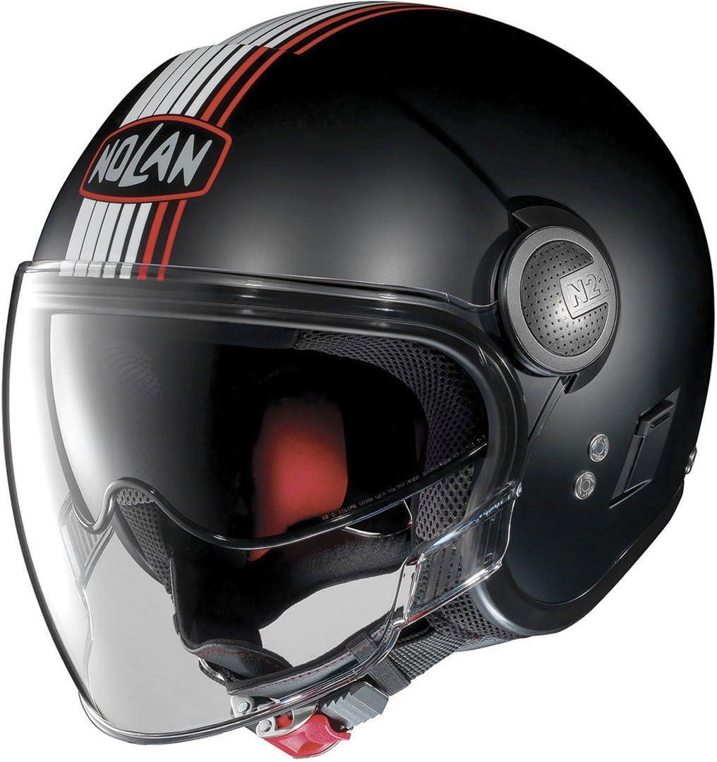 Nolan N21 VISOR JOIE DE VI FLAT BLACK S