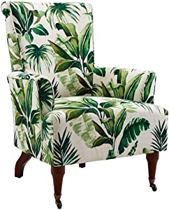Linon Home Junnell Leaf Arm Chair