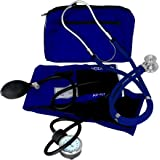 Dixie EMS Blood Pressure and Sprague Stethoscope Kit - Royal Blue