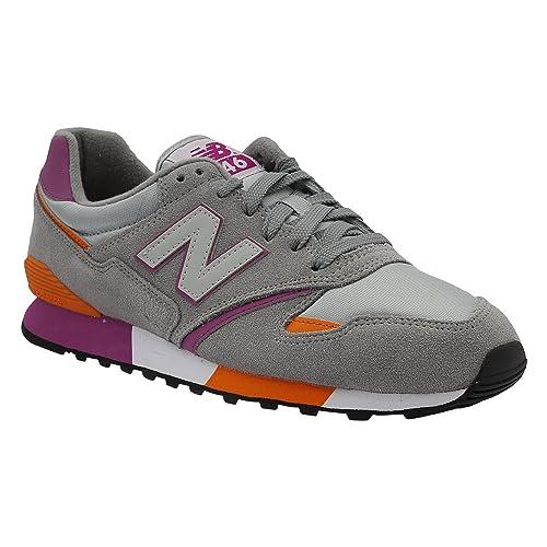 Reunión Orientar Tierras altas  Buy new balance Men's 446 Grey and Orange Sneakers - 6.5 UK/India (40 EU)  (7 US) at Amazon.in