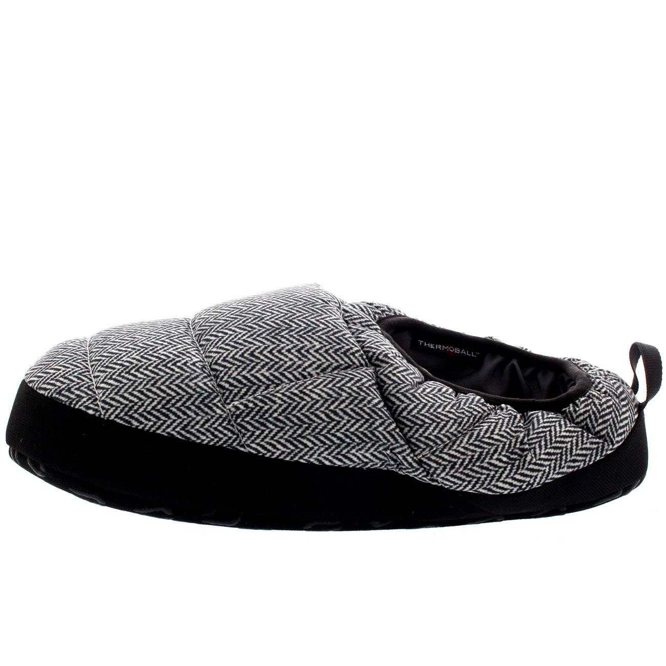 The North Face Mens NSE Tent Mule III Thermal Warm Winter Mule Slippers - Black/White - 8-9.5 by The North Face (Image #2)