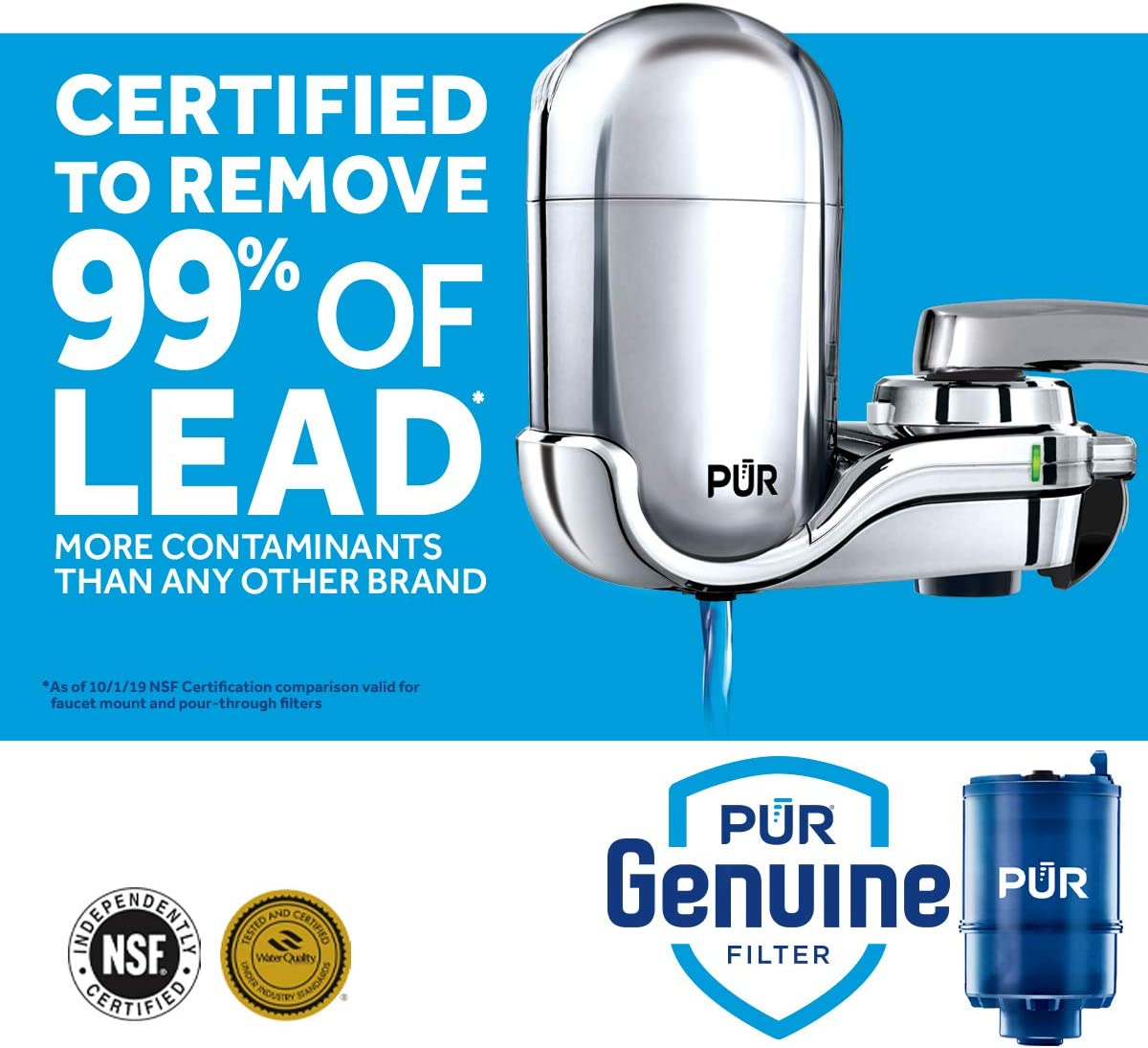 PUR - FM-3700 Faucet Mount Water Filter