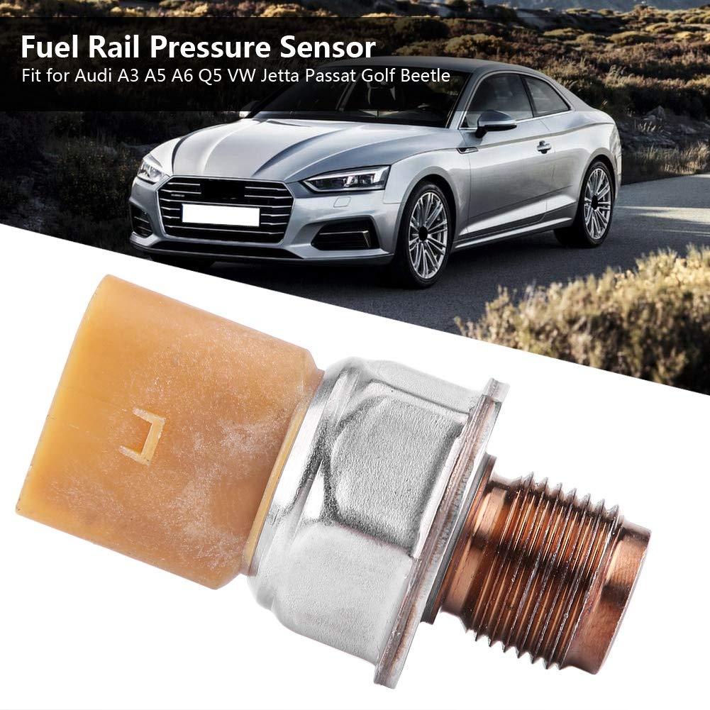 Amazon.com: Fuel Rail Pressure Sensor 85PP26-93, Keenso Fuel Rail Pressure Sensor Car for Audi A3 A5 A6 Q5 VW Jetta Passat Golf Beetle: Automotive