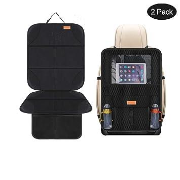Universal Car Seat Back Protector with Pockets Organiser Anti Kick Child Mat