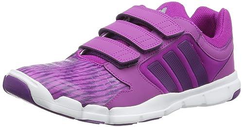 adidas Adipure Trainer 360 CF - Zapatillas de material sintético niña, color rosa, talla 36 2/3: Amazon.es: Zapatos y complementos