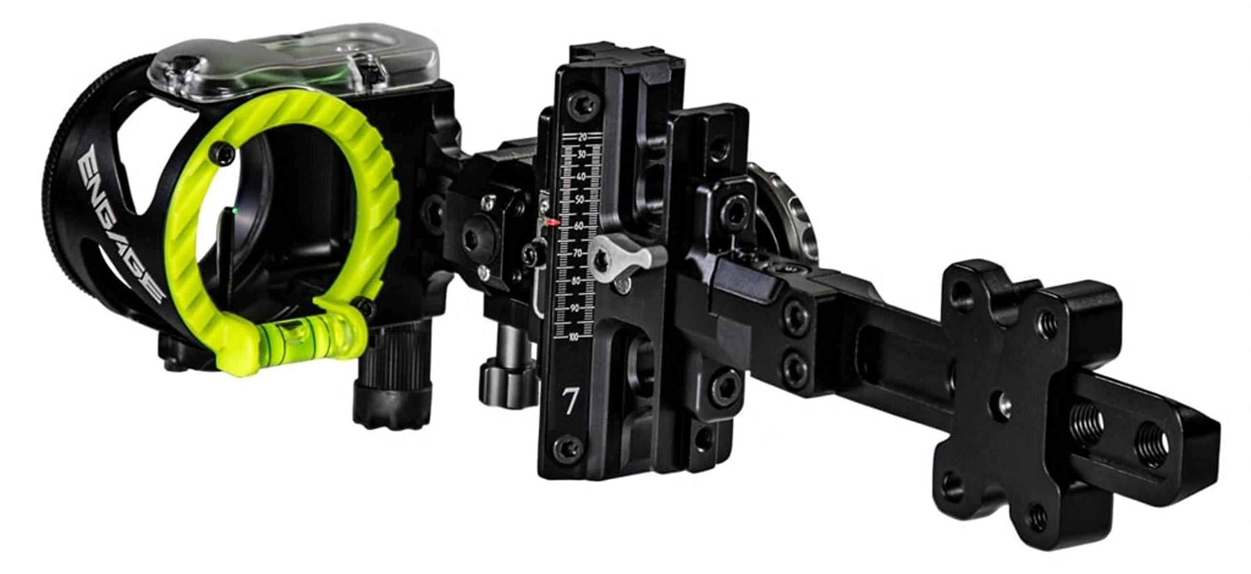 CBE Engage Hybrid Bow Sight 5 Pin Right Hand .010 - CBE-ENH-5-RH-10