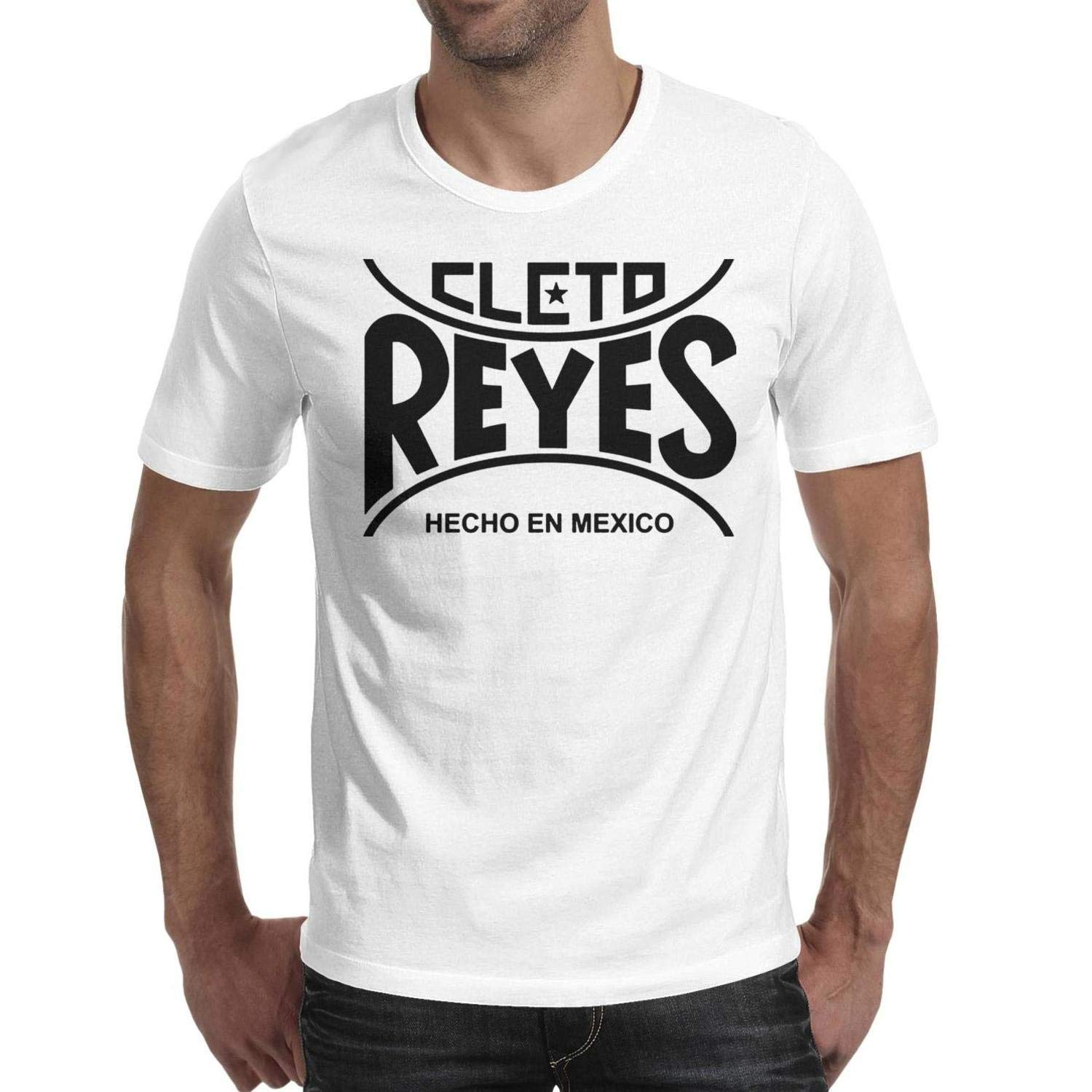 Yoles05 Gym Mens Cotton Tee-Cleto-Funny-Reyes-T Shirt Running Breathable