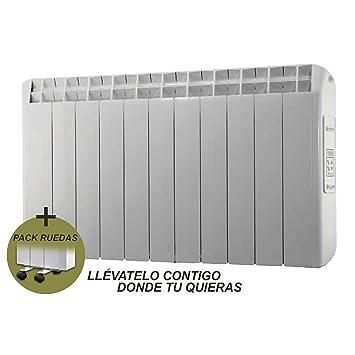 farho Radiador Eléctrico + Juego de Ruedas Xana Plus (XP) • 1210 W • Emisor Térmico con!!! 20 AÑOS DE GARANTÍA!!!: Amazon.es: Hogar