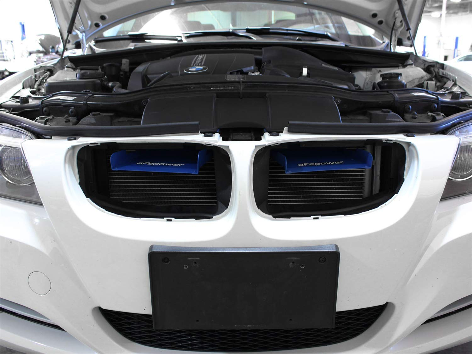 aFe Power Magnum FORCE 54-11478-L BMW 3-Series (E9x) Intake System Scoops (Matte Blue) by aFe Power (Image #7)