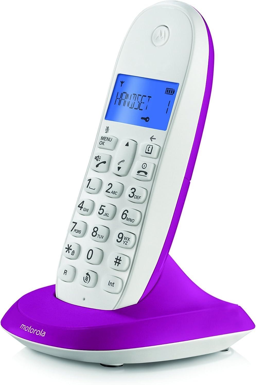 Motorola - Teléfono inalámbrico C1001 LB+: Amazon.es: Electrónica