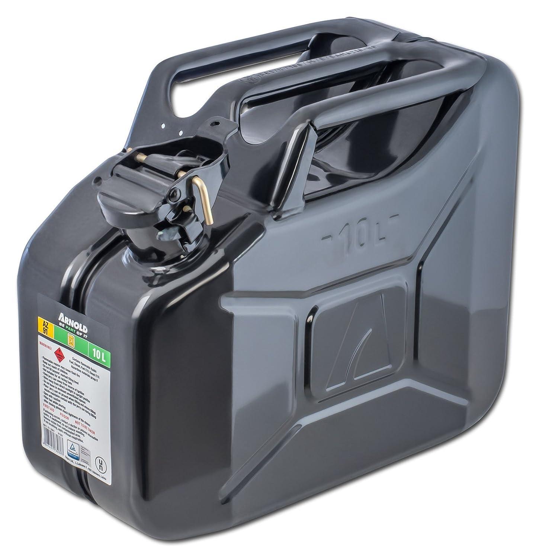 Arnold Metall-Kraftstoffkanister 10 L, schwarz, 6011-X1-2001