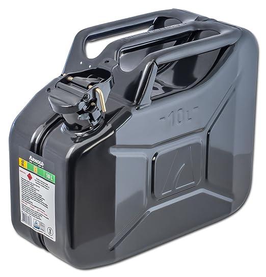 29 opinioni per Arnold, Tanica per carburante in metallo, 10 L, nero, 6011-X1-2001