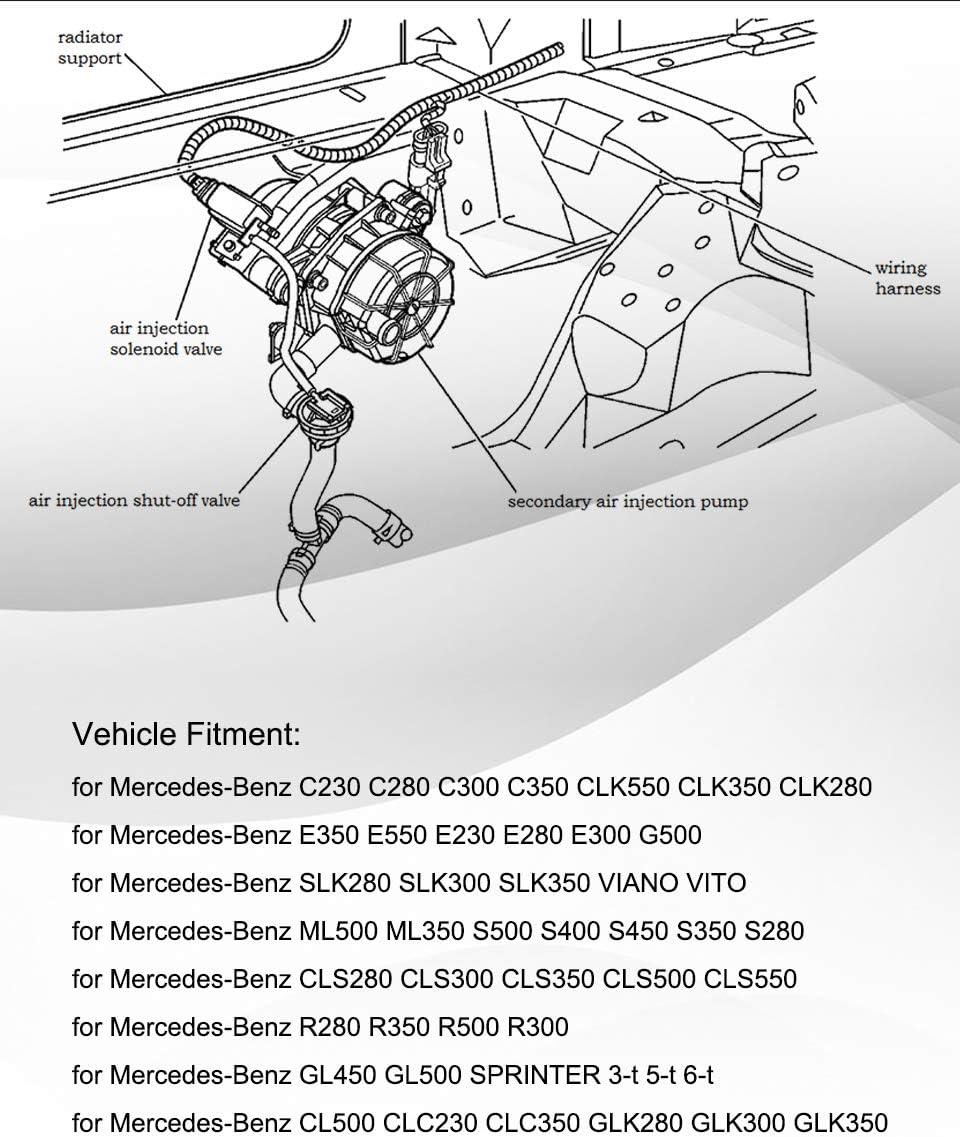 Hombre filtro de aire Mercedes Benz clase S w220 coupé c215