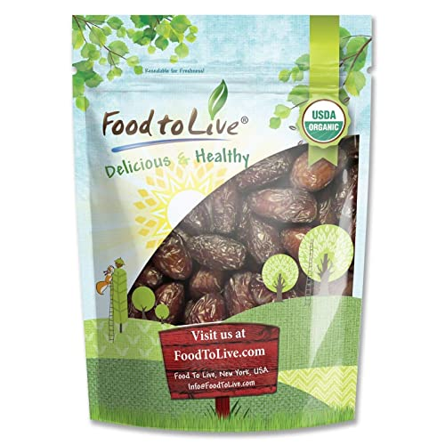 Organic Medjool Dates by Food to Live — 2 pounds