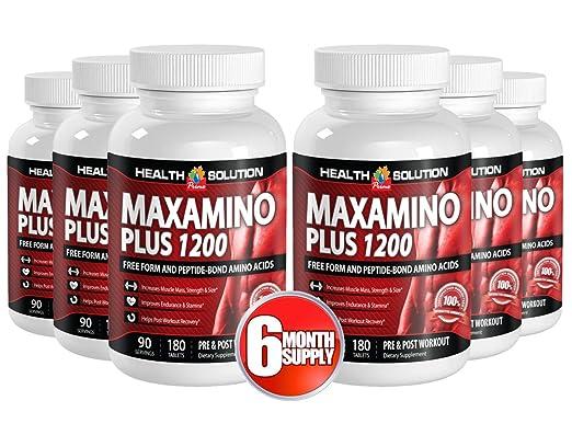 Amazon.com: Triptófano Suplementos orgánico – maxamino Plus ...
