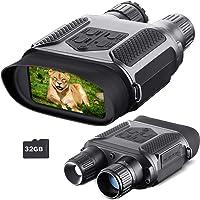 Binoculares visión Nocturna para Adultos, Tarjeta TF 32GB, Zoom infrarrojo Digital 7X HD, visión Nocturna Pantalla…