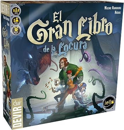 Devir - El Gran Libro de la Locura, Juego de Mesa (BGLOCURA): Amazon.es: Juguetes y juegos