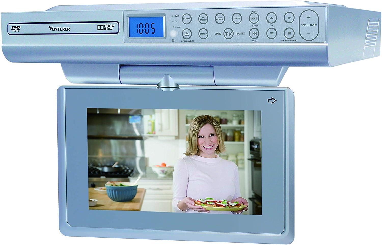 "Venturer Undercabinet Kitchen LCD TV/DVD Combo (No AV No HDMI Input) (9"")"