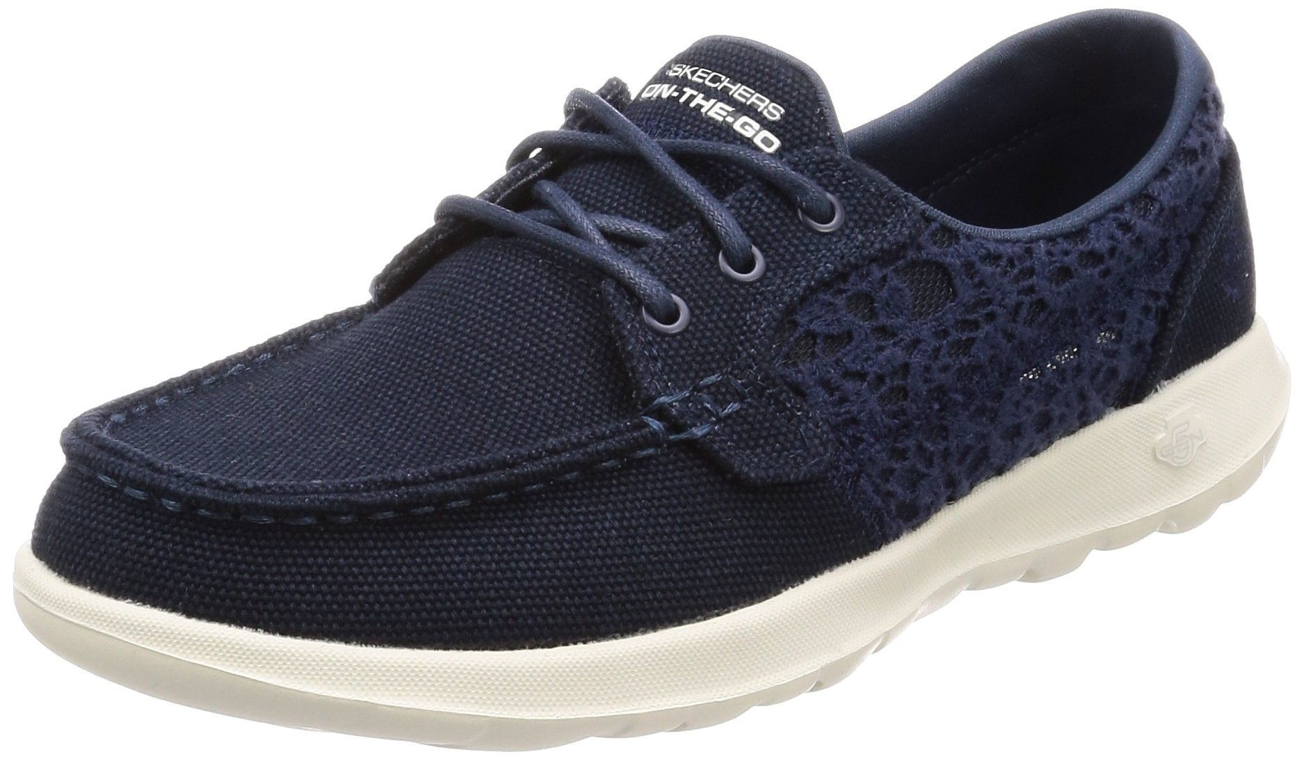 Skechers Gowalk Lite - Mira Navy Womens Boat Shoes Size 9M