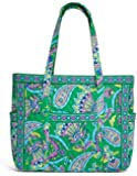 Vera Bradley Get Carried Away Tote with Updated Solid Interiors