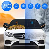 Deals on Keystand Windshield Snow Cover w/Side Mirror Covers and Hooks