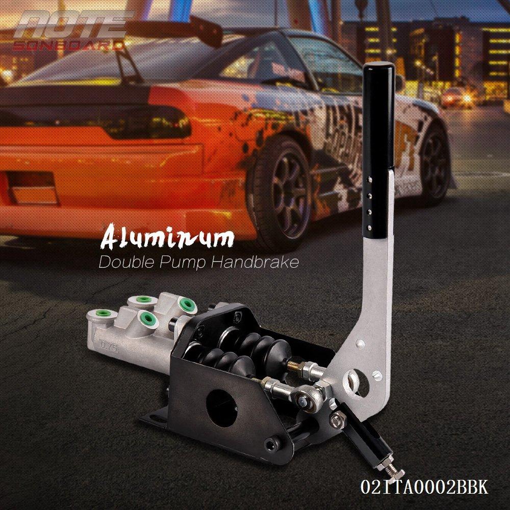 Dual Cylinder Hydraulic Handbrake Brake Drift Rally Universal Black by Generic