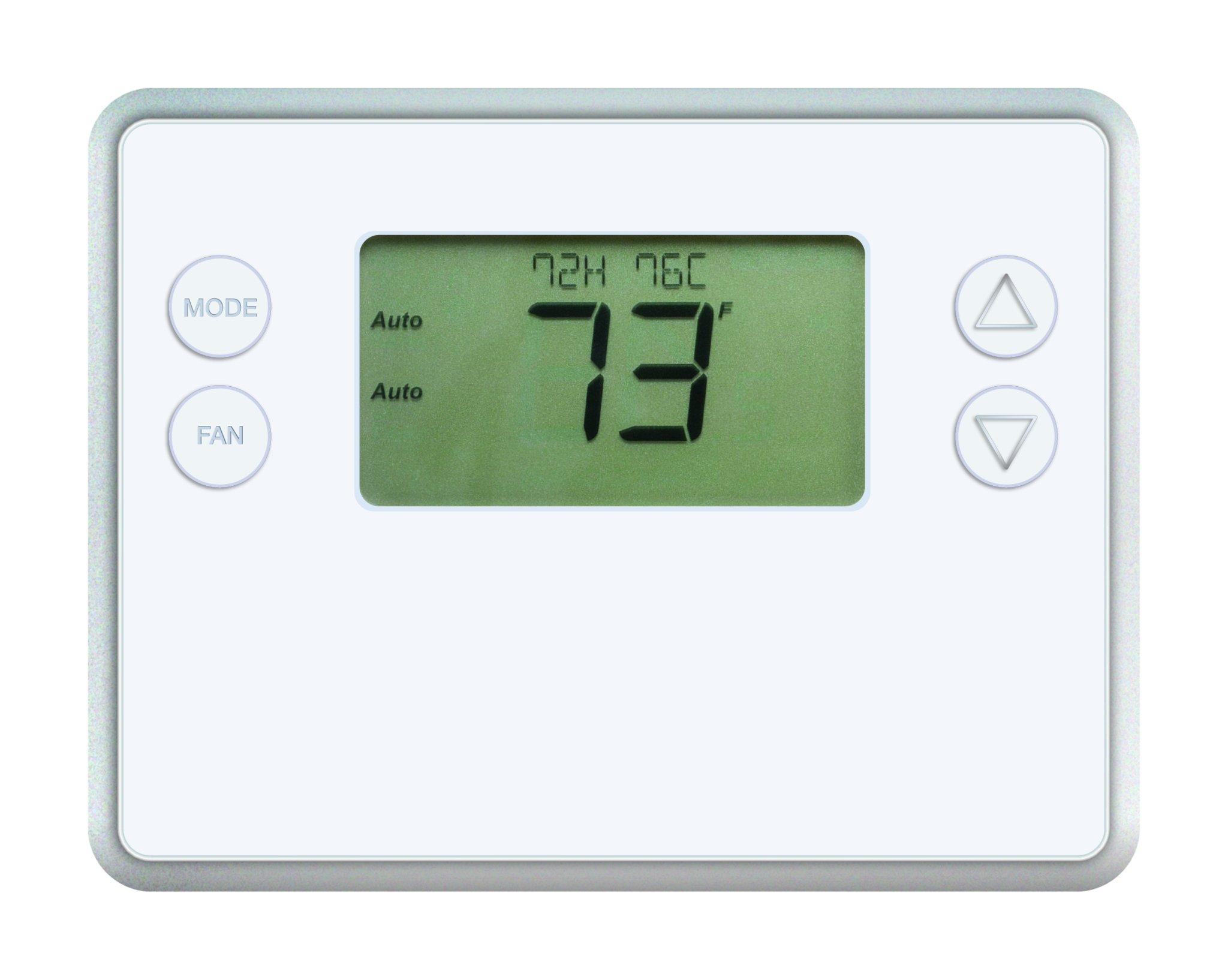 LINGCTBZ48 - GoControl GC-TBZ48 Z-Wave(R) Battery-Powered Smart Thermostat by GoControl