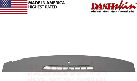 DashSkin Molded Defrost Dash Cover Compatible with 07-14 GM SUVs & Pickups in Dark Titanium