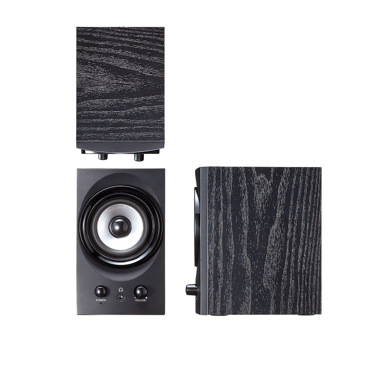 SANWA SUPPLY high-power USB speaker MM-SPU9BK (Black) by Sanwa (Image #10)