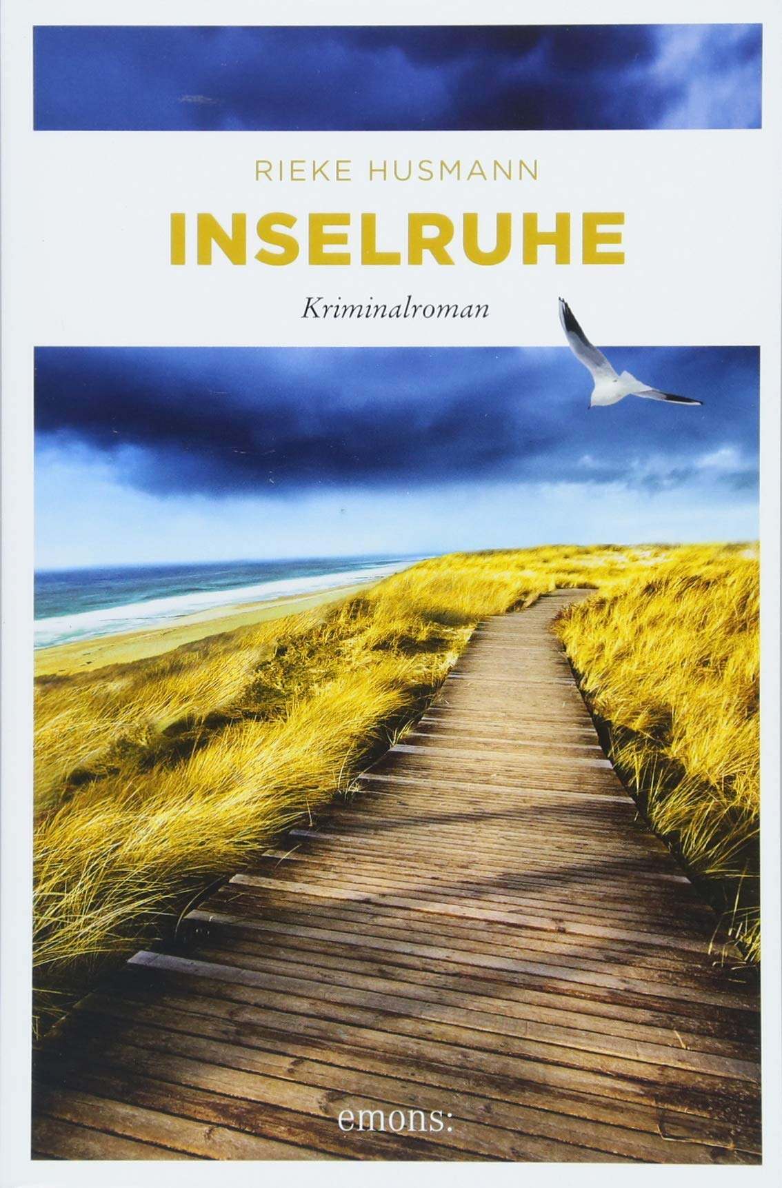 Inselruhe: Kriminalroman Taschenbuch – 15. März 2018 Rieke Husmann Emons Verlag 3740803657 Belletristik / Kriminalromane