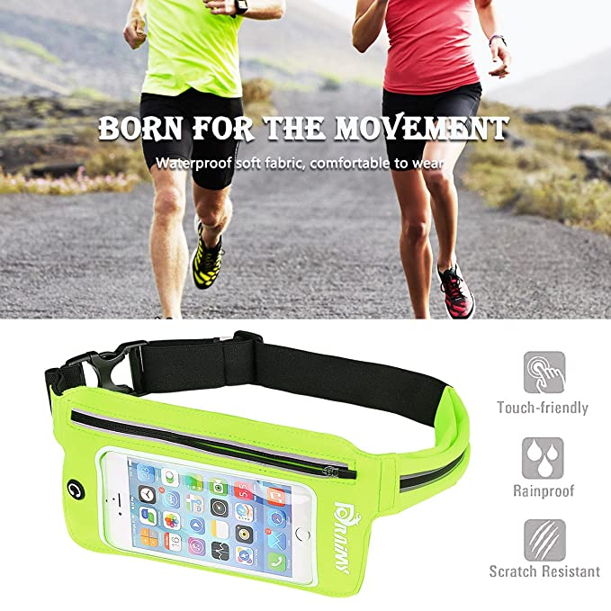 Amazon.com: Cinturón ajustable impermeable con pantalla ...