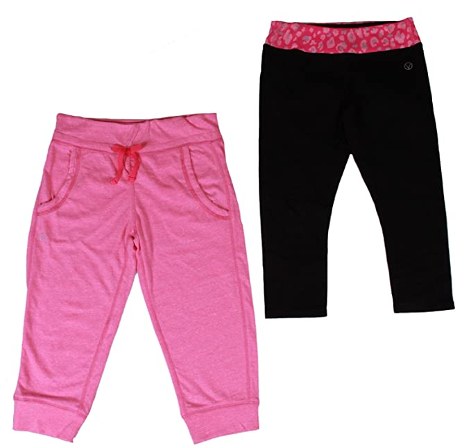 VIGOSS Girls Yoga 2-Piece Pant Set