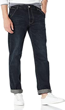 Demon/&Hunter 809 Loose Fit Series Hombre Pantalones Vaqueros Relaxed Jeans