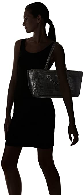Fiorelli Croc Yardley es negro Amazon para bolsos Tote negro y mujer Zapatos 66grqw