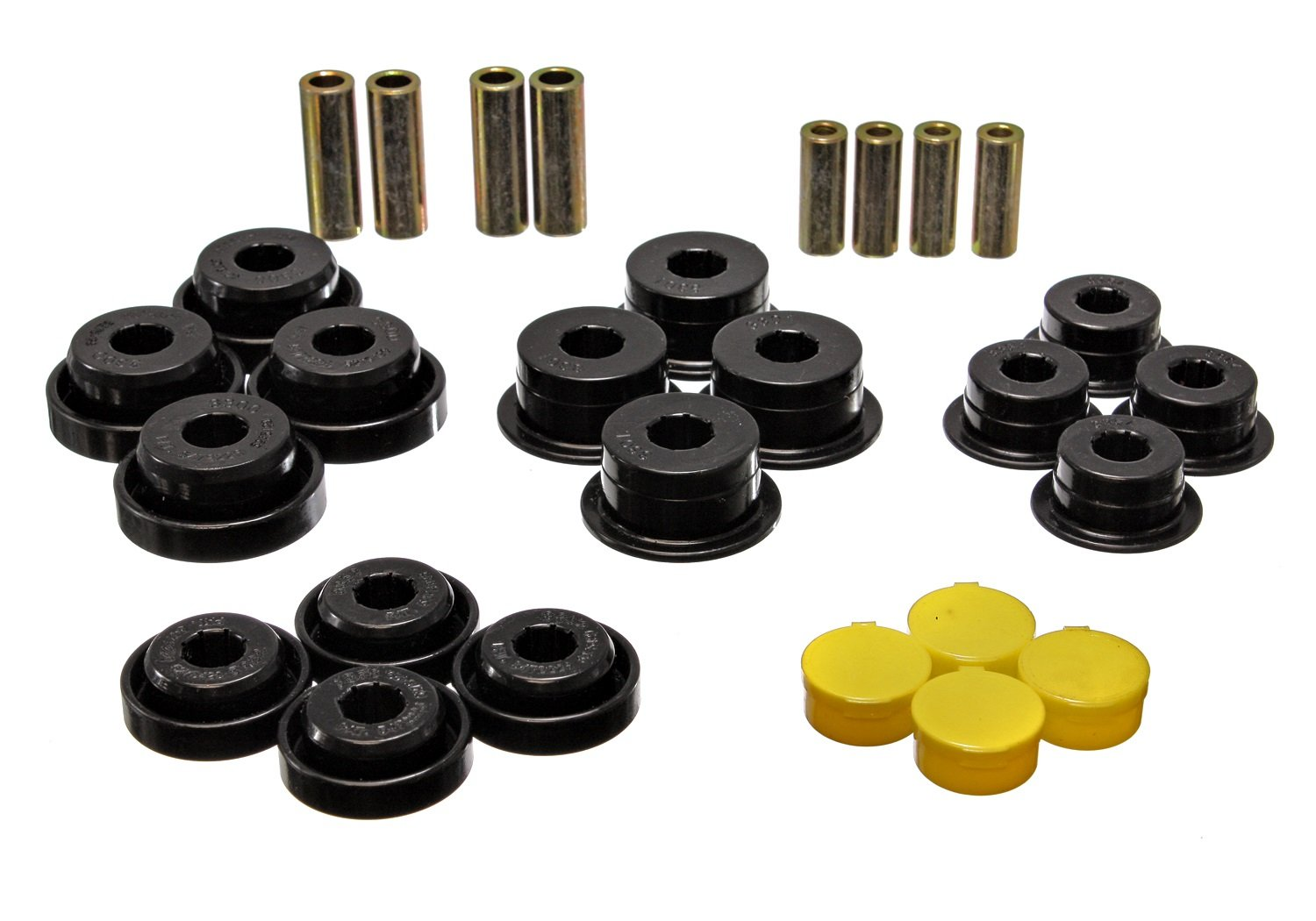 Energy Suspension 2.3107G Rear Control Arm Bushing Set for Jeep TJ