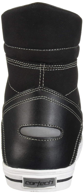 Cortech Mens Vice WP Riding Shoe White//Black, Size 9 1 Pack