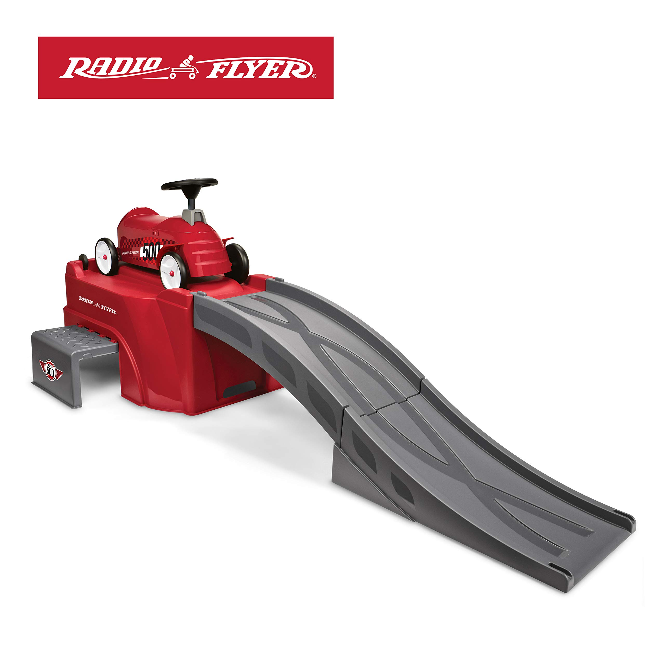 Radio Flyer 500 Ride-On with Ramp, Red by Radio Flyer