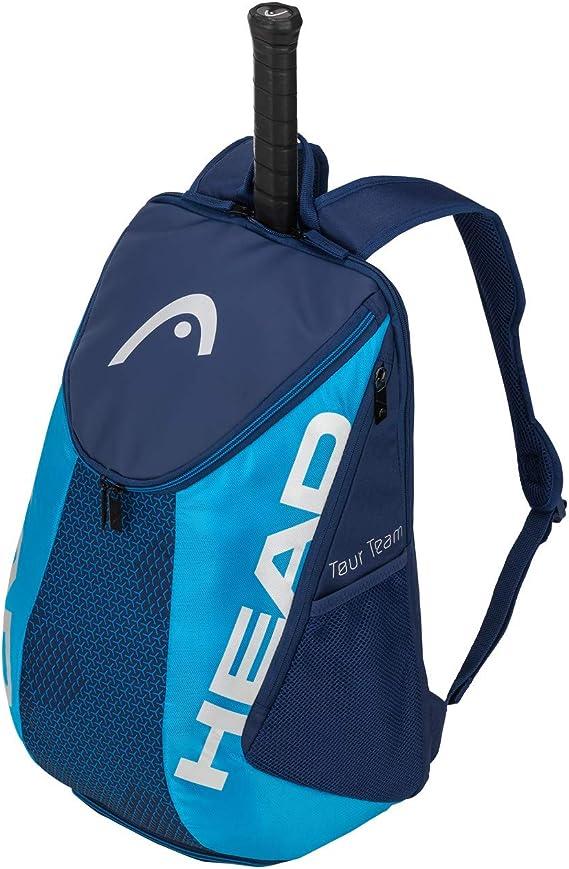 Head Tour Team Backpack Bolsa de Tenis, Adultos Unisex, Negro/Gris ...