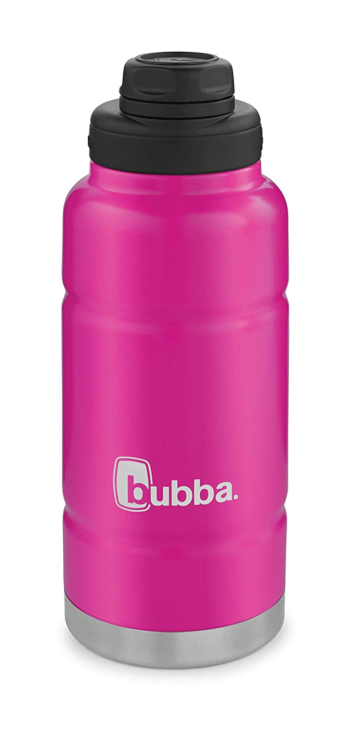 Bubba Trailblazer Vacuum-Insulated Stainless Steel Water Bottle, 32 oz, Dragon Fruit