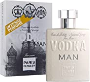 Eau de Toilette Vodka Man, Paris Elysees, 100 ml