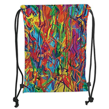 Amazon.com  Custom Printed Drawstring Sack Backpacks Bags b449209c6649