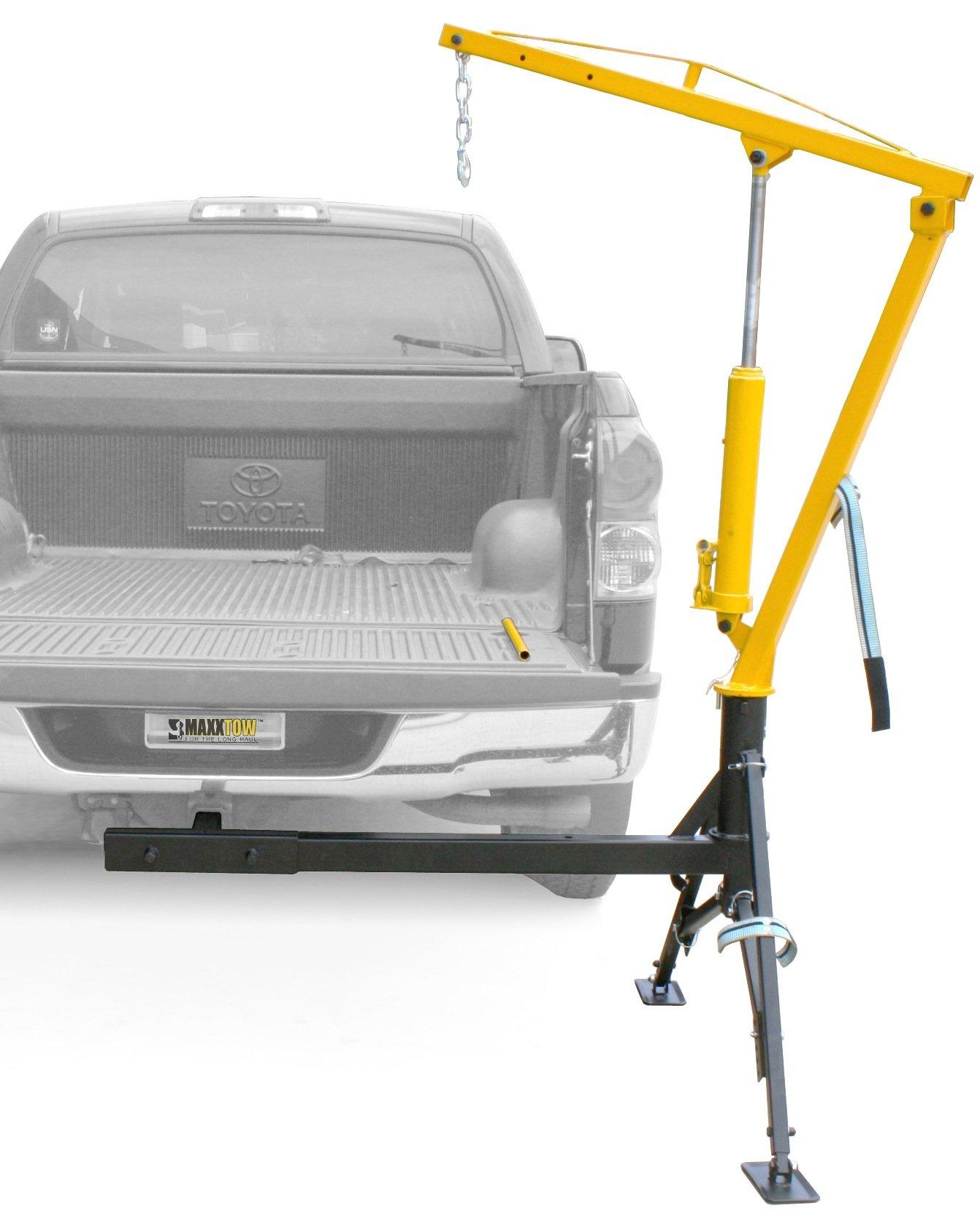 MaxxHaul 70238 Receiver Hitch Mounted Crane - 1000 lbs. Capacity by MaxxHaul